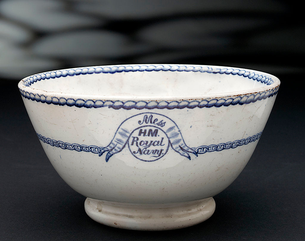 Detail of Earthenware bowl by unknown