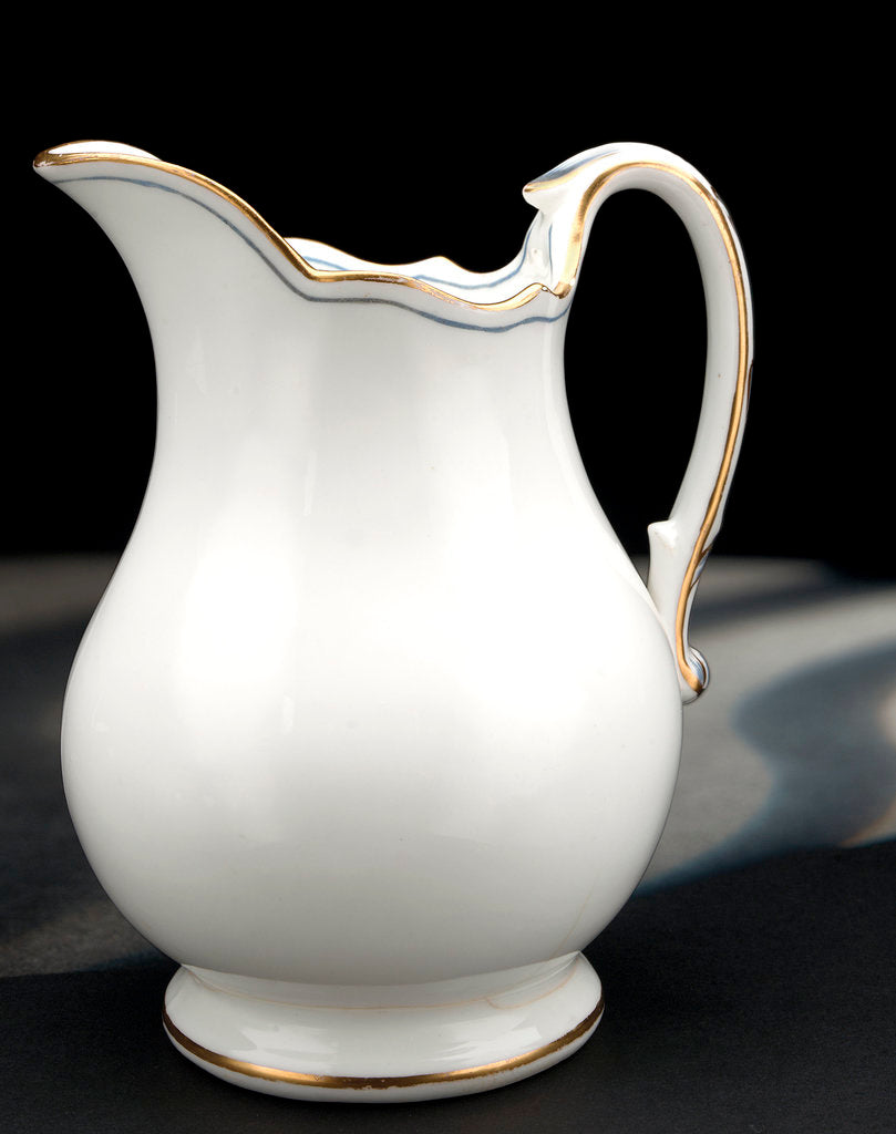 Porcelain jug by unknown