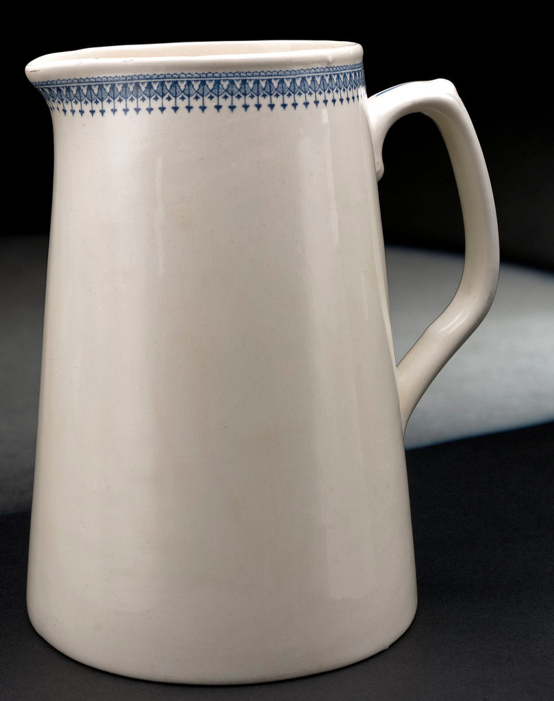 Detail of Earthernware jug by unknown