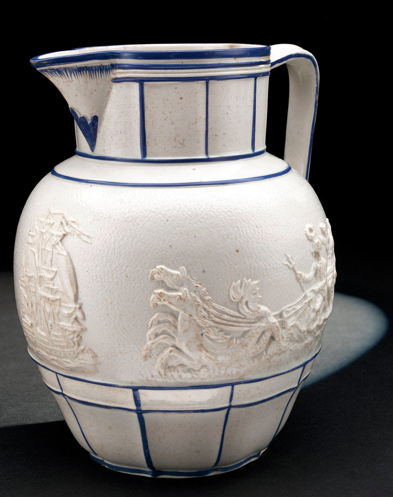 Detail of Stoneware jug by unknown