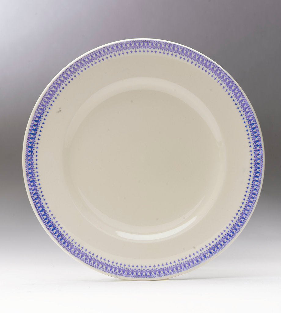 Earthenware plate by G.L. Ashworth & Bros Ltd.