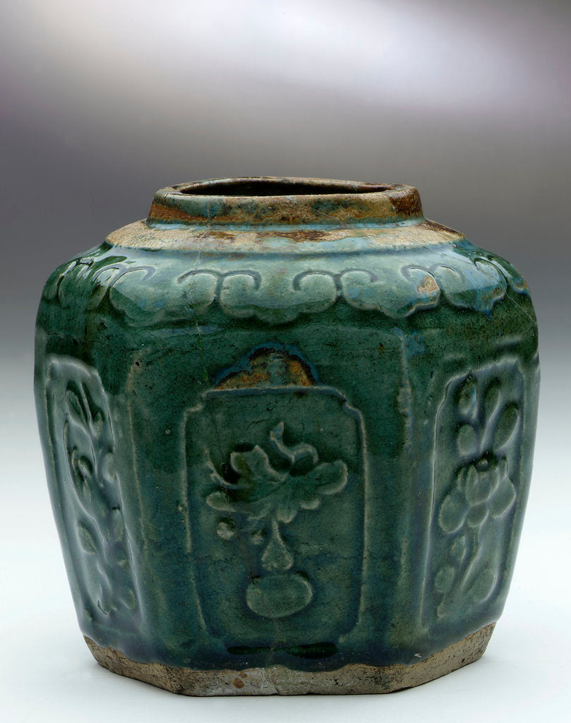 Detail of Ginger jar by unknown