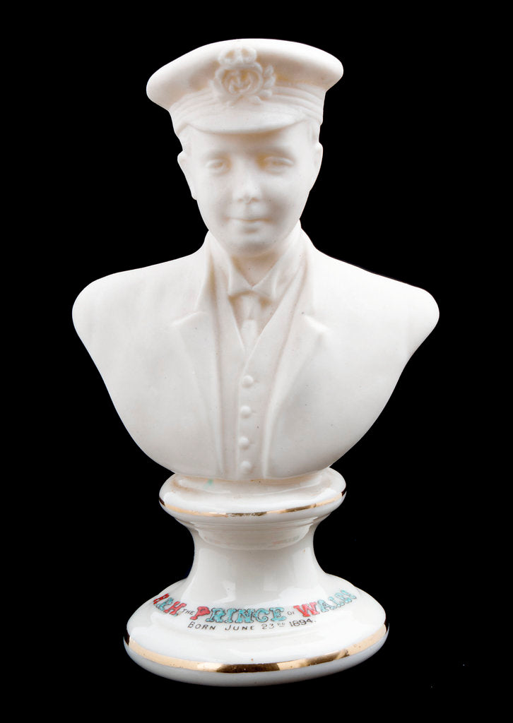Detail of Porcelain bust by Arkinstall & Sons Ltd.