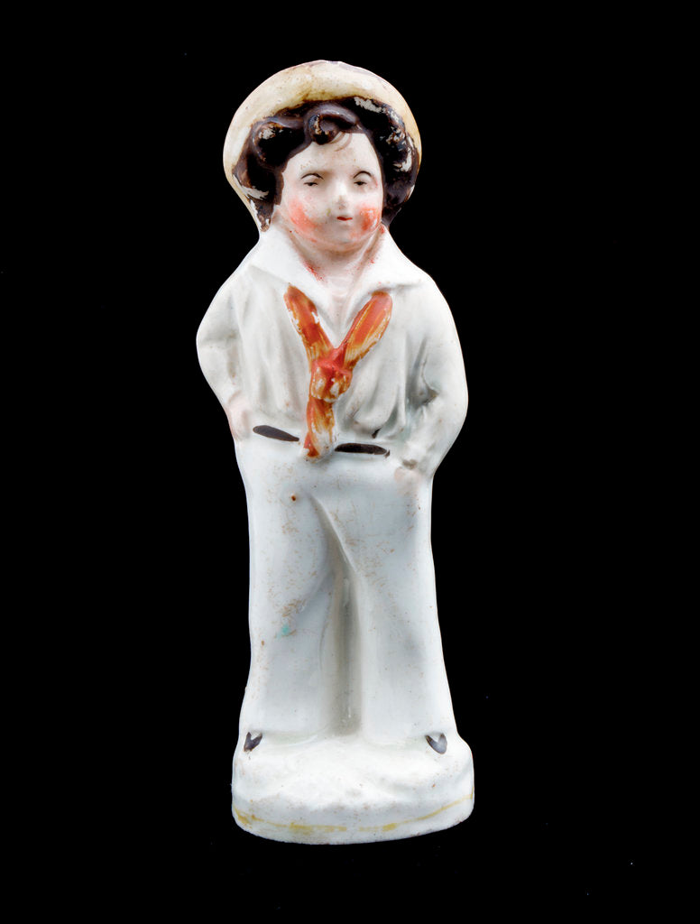 Detail of Staffordshire figure by unknown