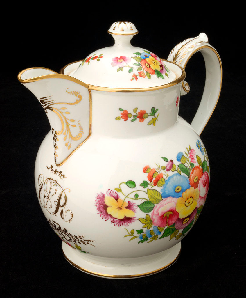 Coffee pot with lid by John Rose & Co.