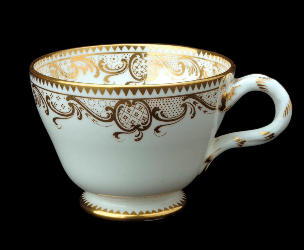 Detail of Cup used on RY 'Osborne' (1870) by Minton