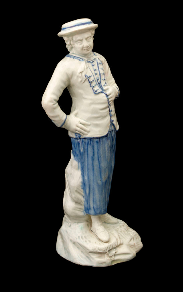 Detail of Earthenware figure of a sailor by Ralph Wood
