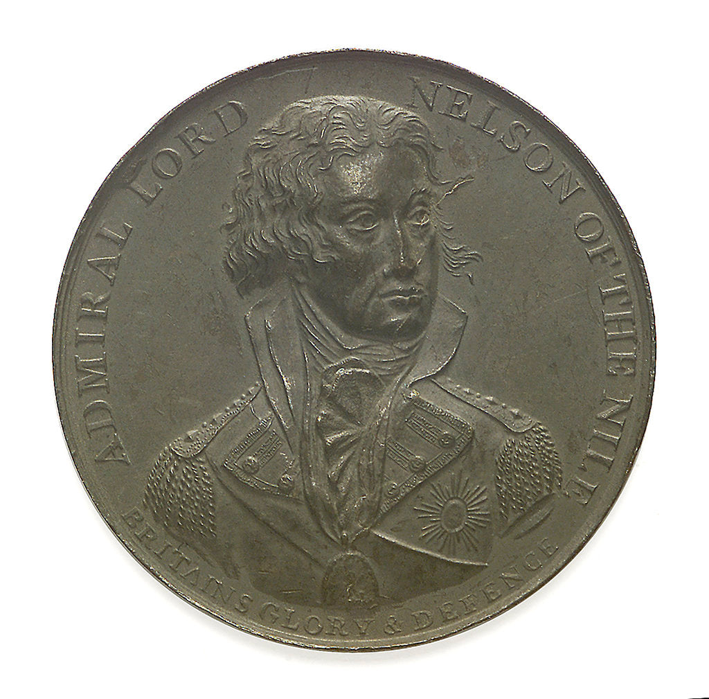 Detail of Medal commemorating the Battle of the Nile, 1798; obverse by unknown
