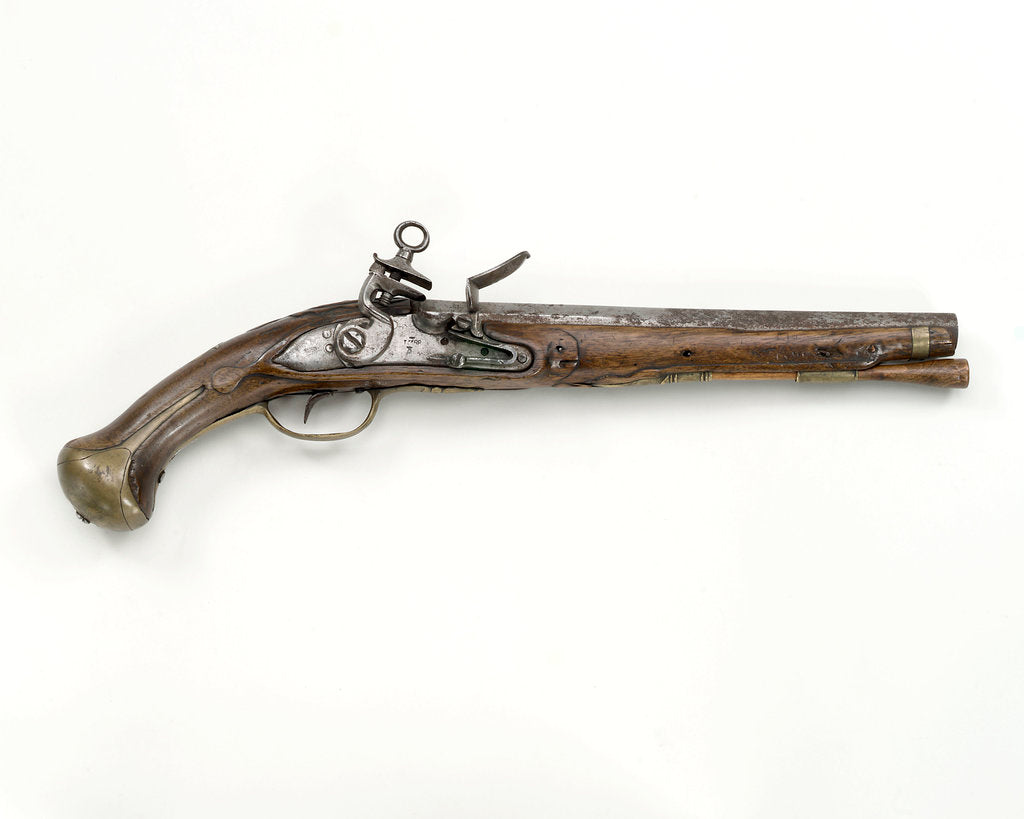 Detail of Pistol by unknown