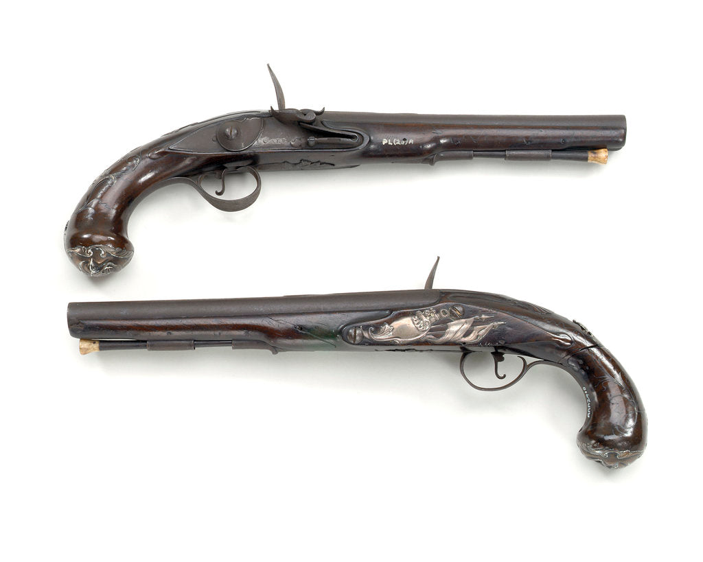 Detail of Pistols by T. Carr