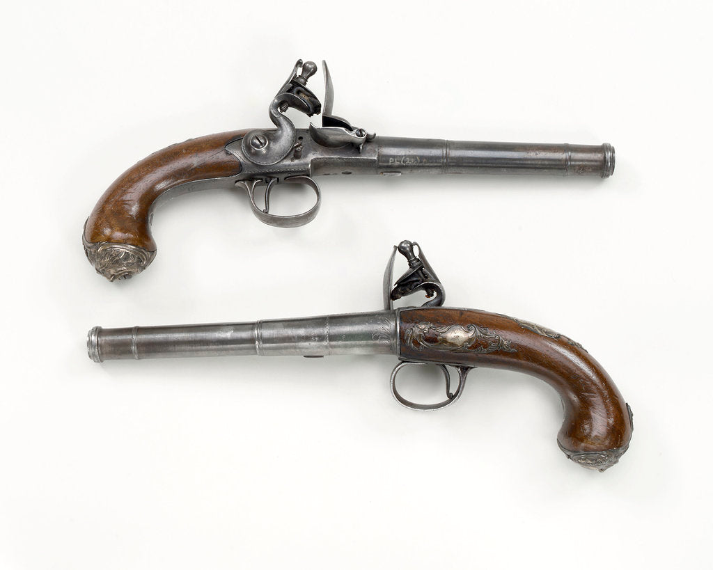 Detail of Pistols by B.Griffin