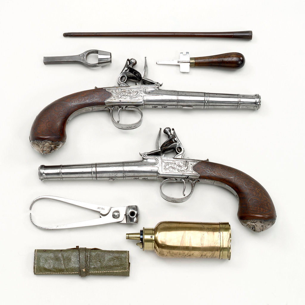 Pistol (pair) by J. Collis