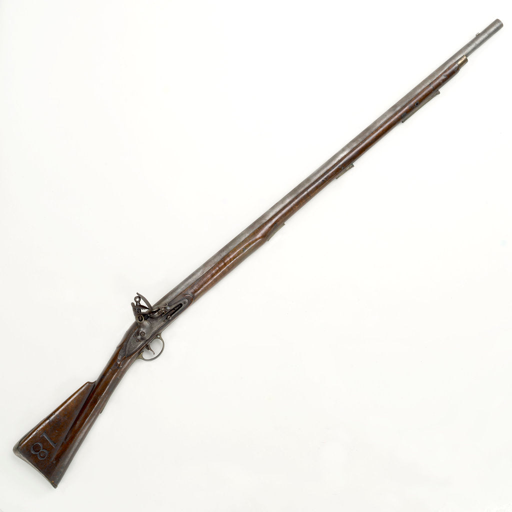 Detail of Flintlock musket by unknown