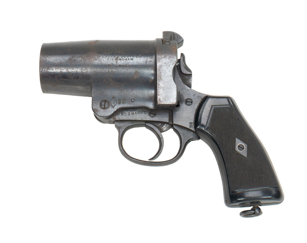 Detail of Webley & Scott Mark I by Webley & Scott Revolver & Small Arms Co.