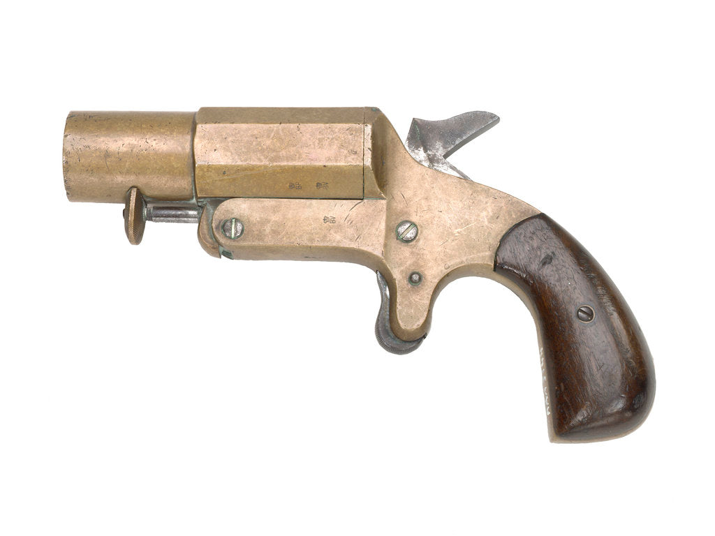 Detail of Signal pistol by unknown