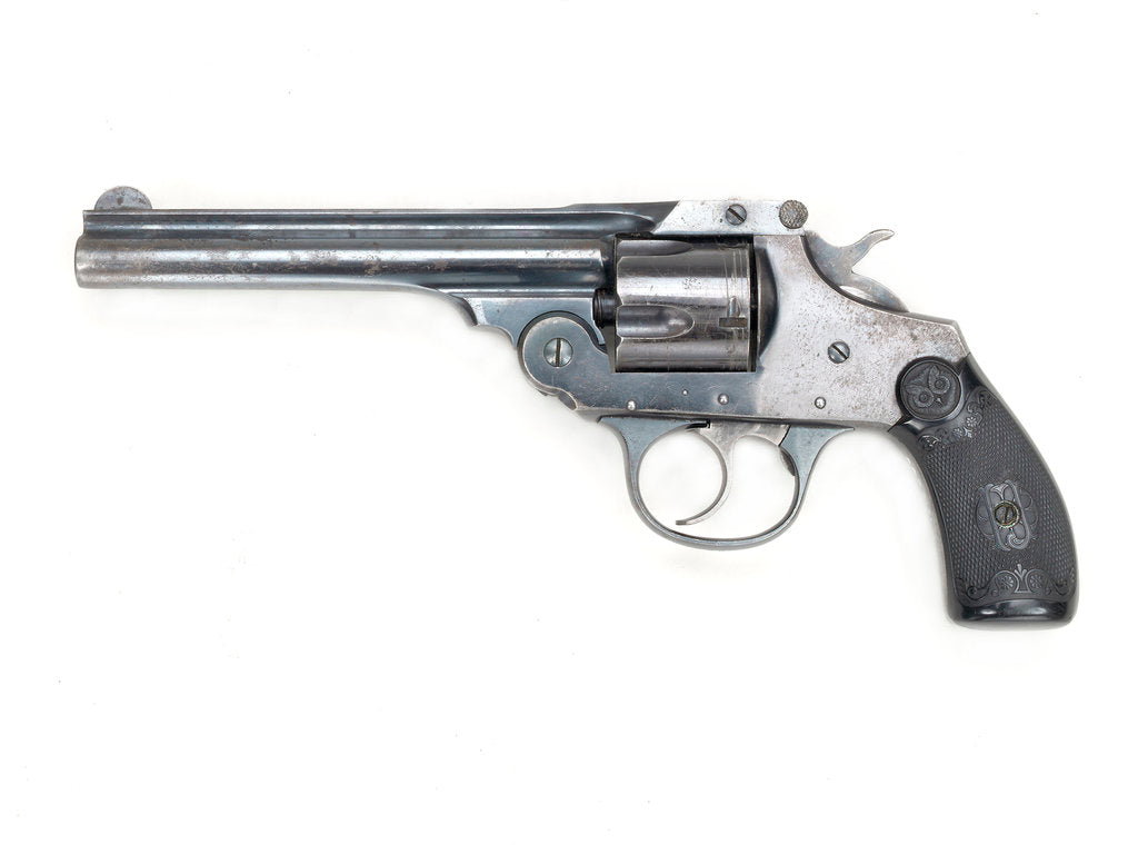 Detail of Revolver by I. Johnson
