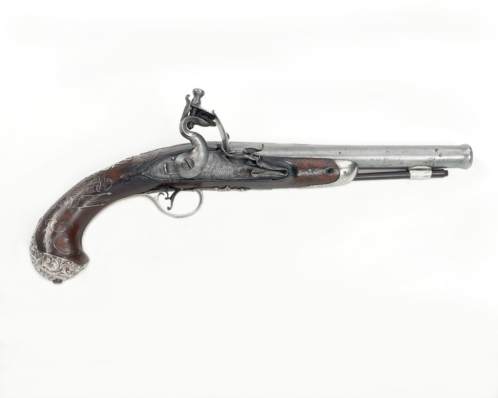 Pistol which belonged to Captain Peter Reed (circa 1759) by R. Wilson