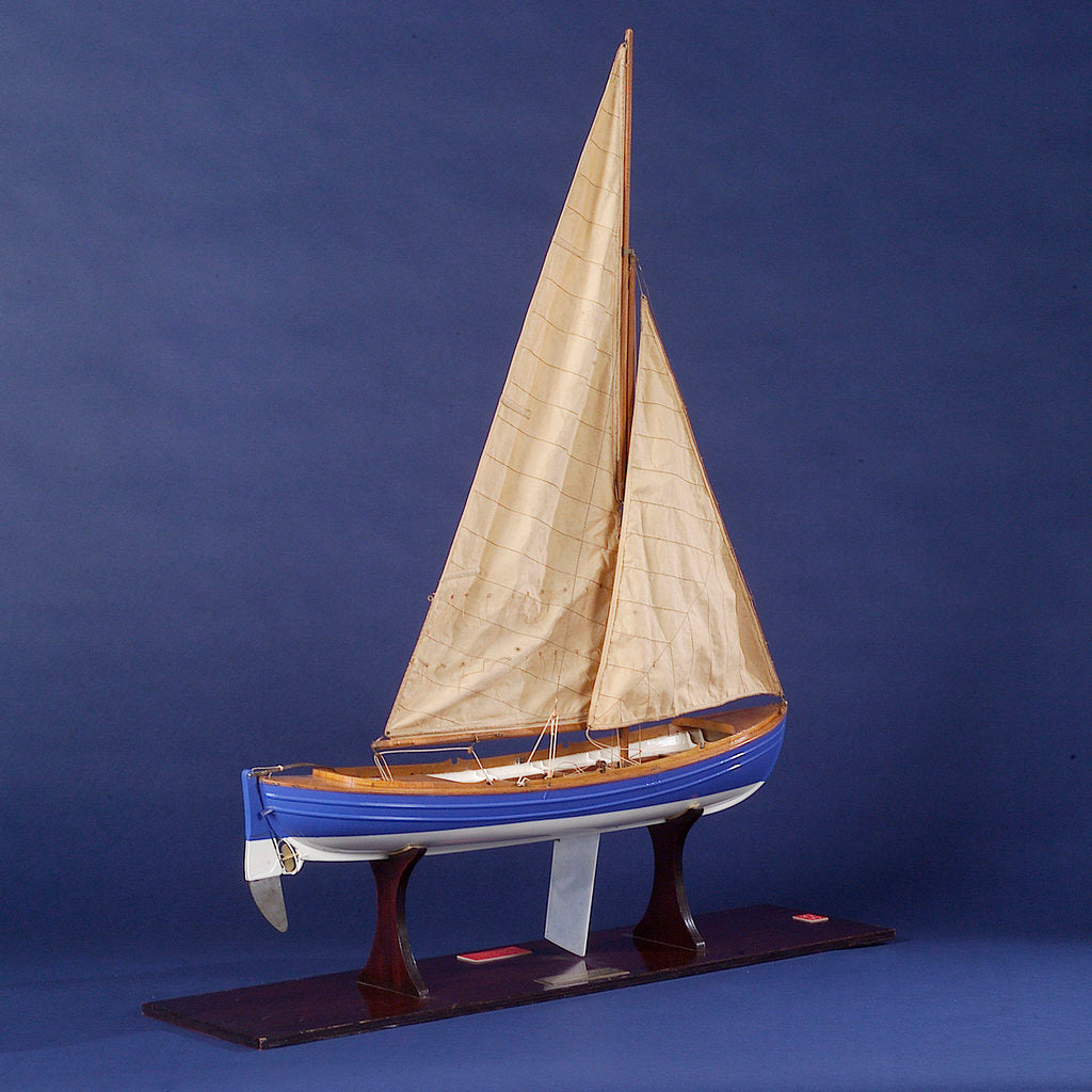 Detail of Full hull model, whaler, starboard stern quarter by unknown