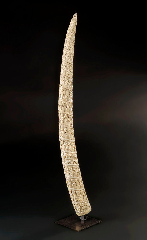 Detail of Loango Tusk by unknown