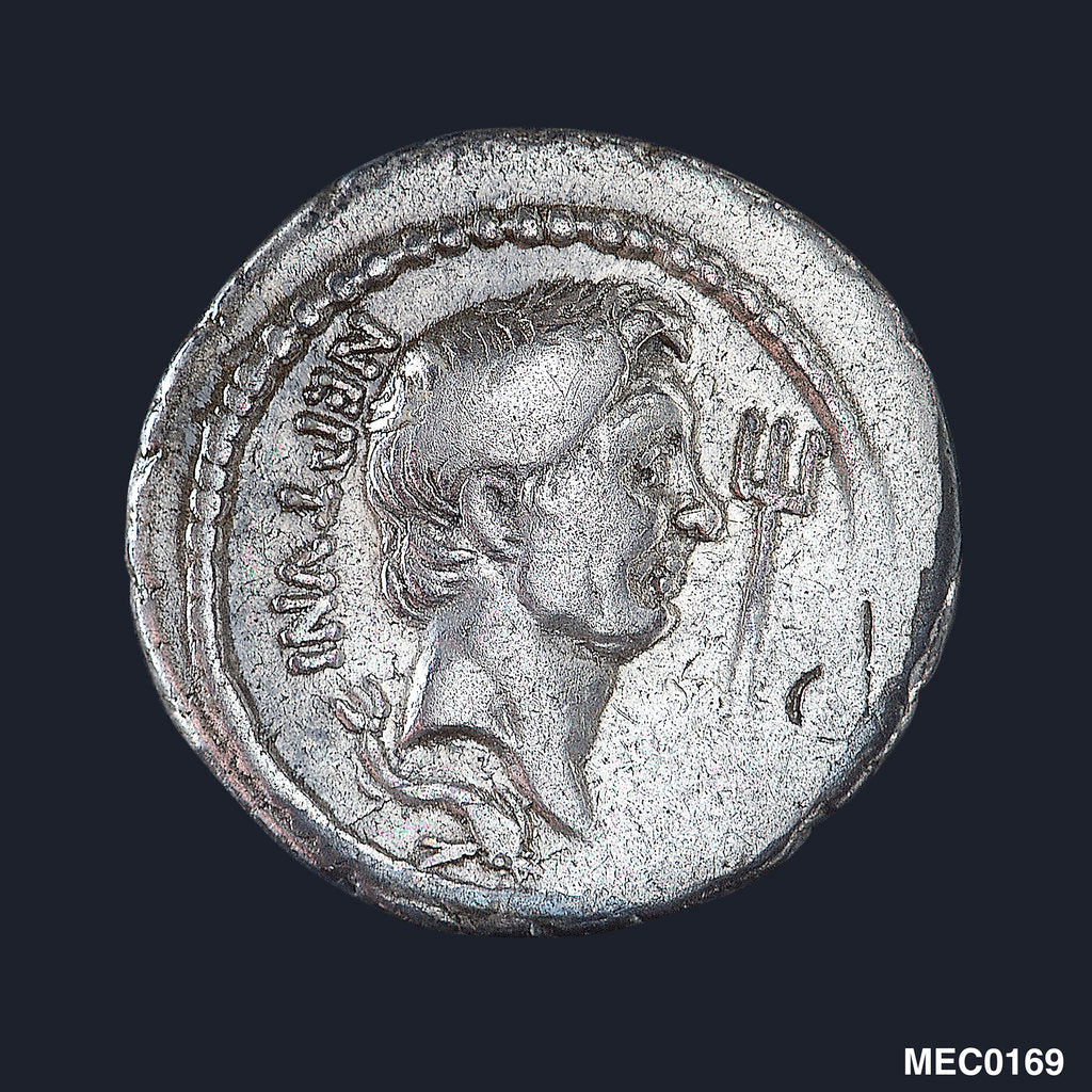 A denarius commemorating the victories of Q. Nasidius by unknown
