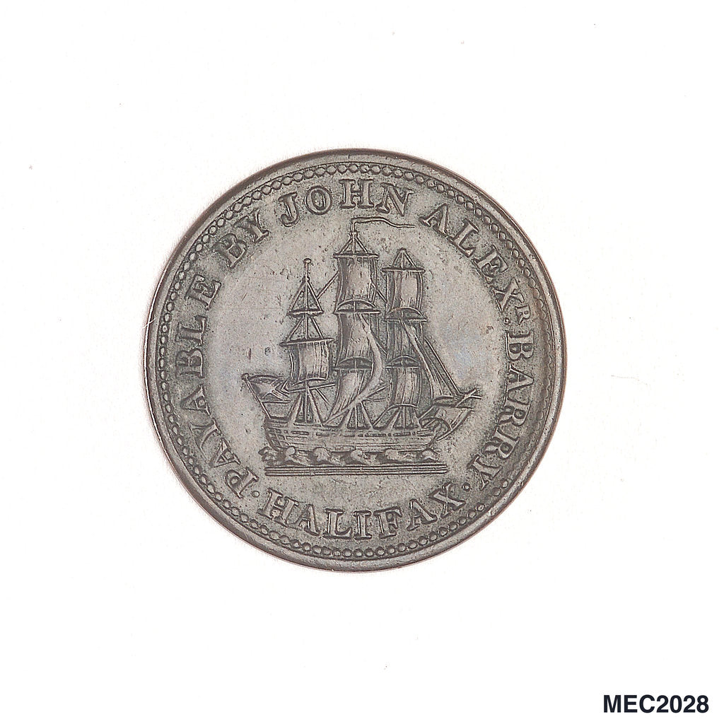 Halifax halfpenny token by unknown