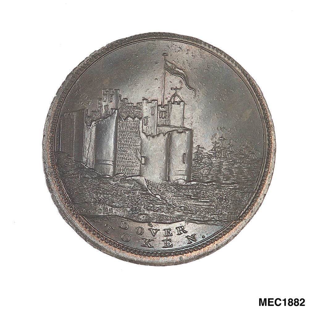 Detail of Dover token by B. Jacobs