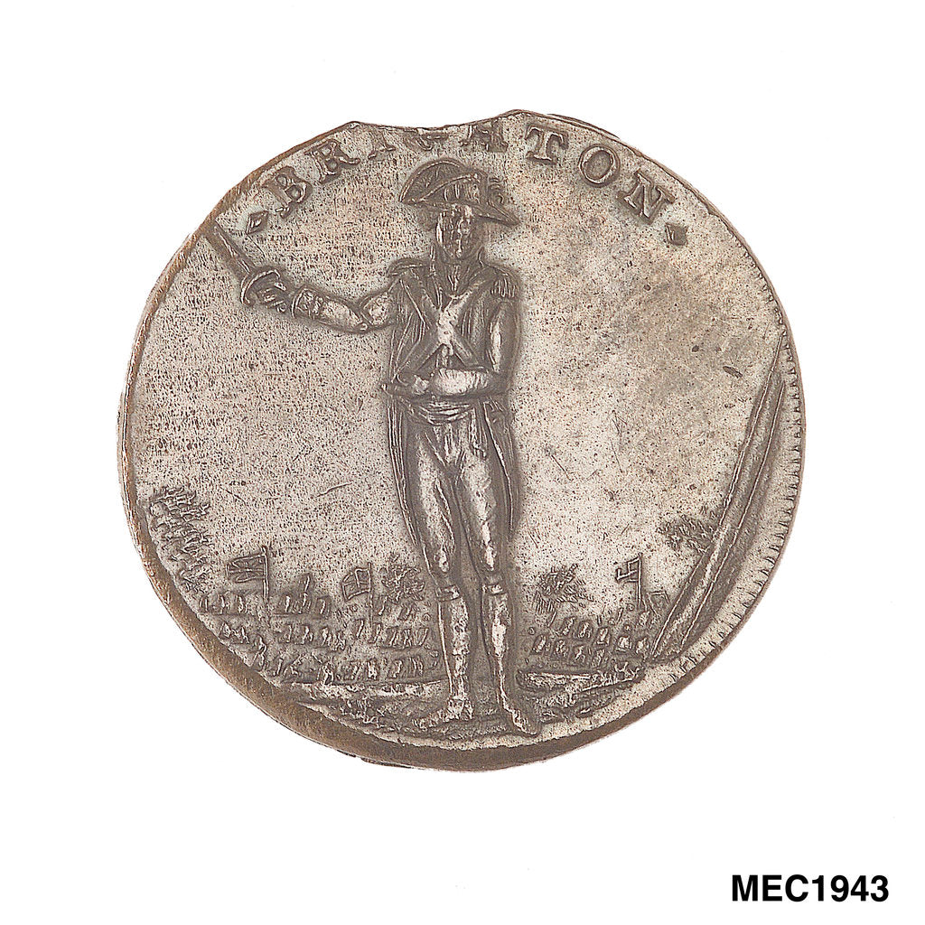 Brighton halfpenny token by unknown