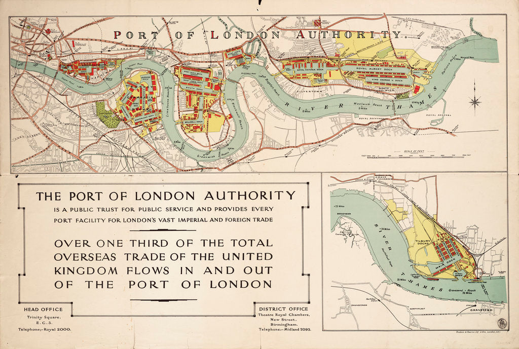 Detail of The Port of London Authority by Port of London Authority
