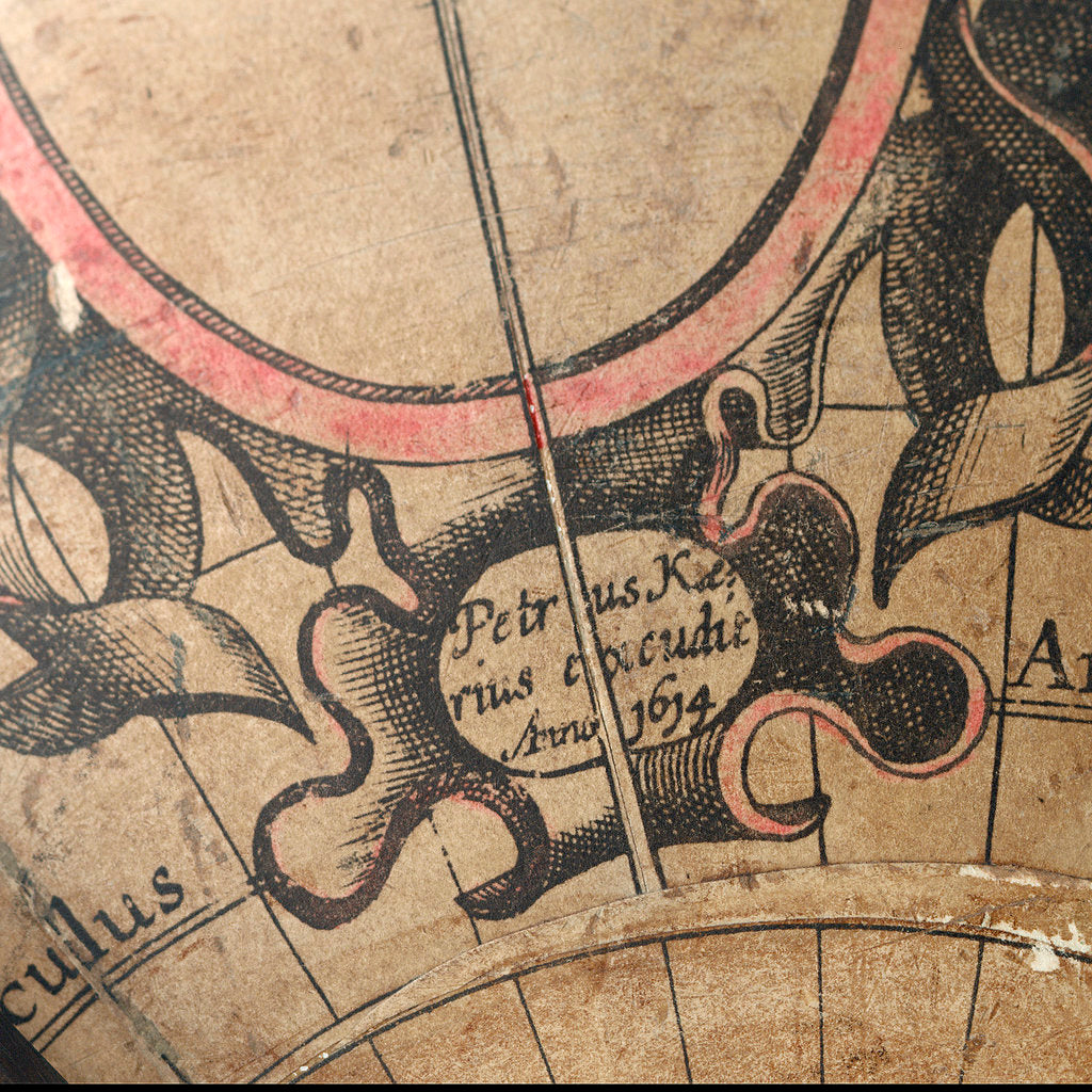 Detail of Imprint south of New Guinea by Pieter van den Keere