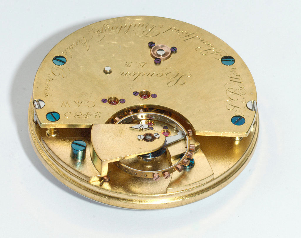 Detail of Deck watch, movement by Better