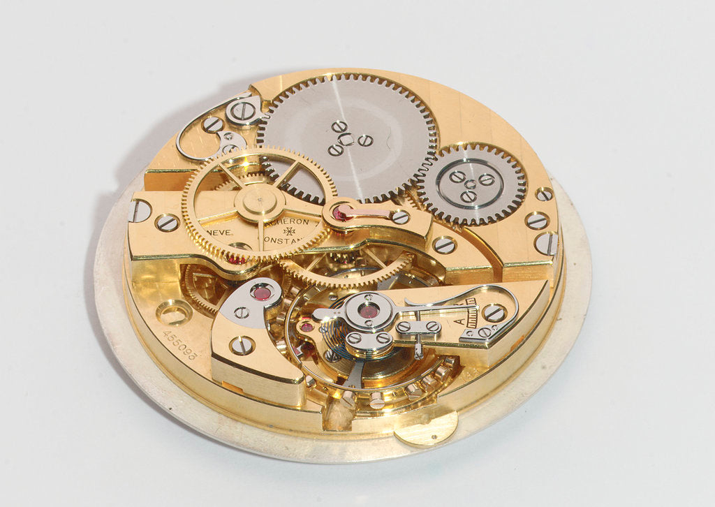 Detail of Deck watch, movement by Vacheron & Constantin