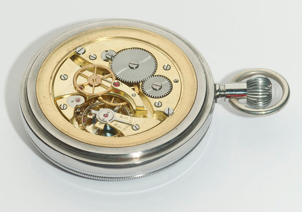 Detail of Deck watch, movement by E. M. T.