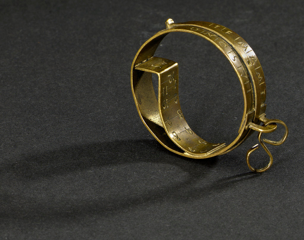 Detail of Ring dial by unknown