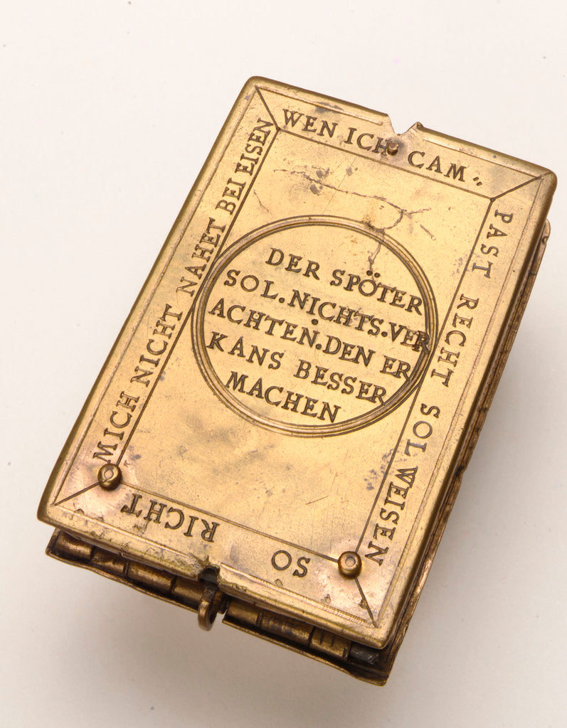 Astronomical compendium, leaf IIIb by Hans Ducher