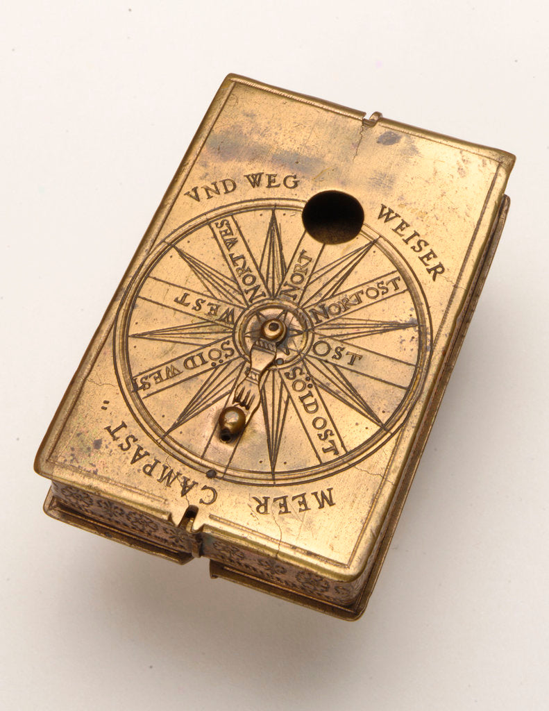 Detail of Astronomical compendium, leaf Ia by Hans Ducher