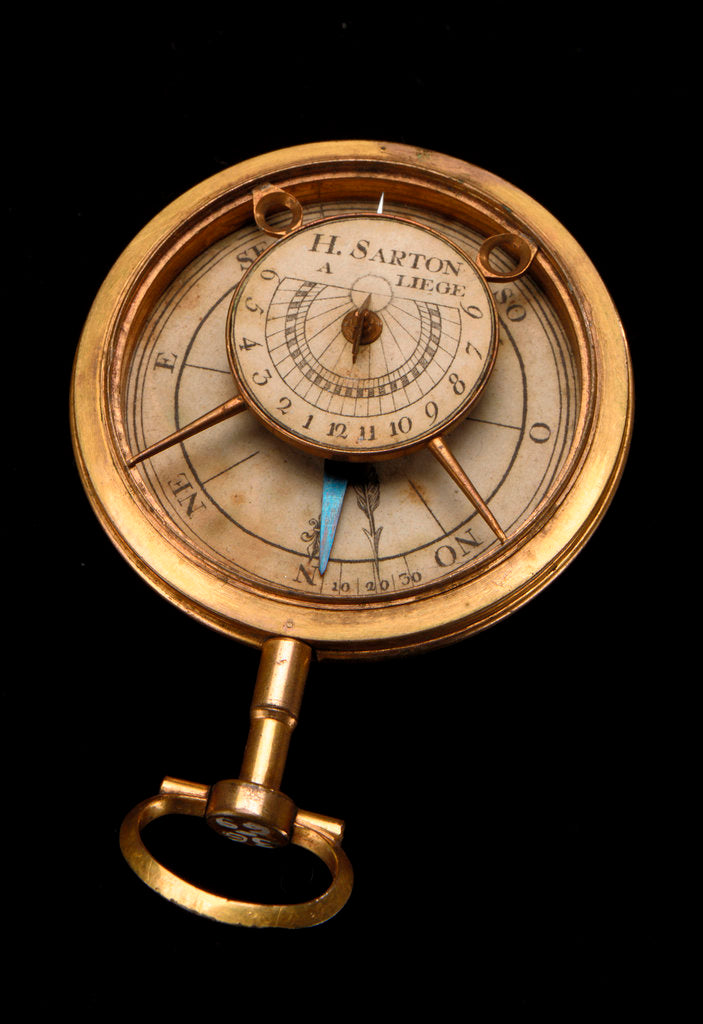 Detail of Compass dial by Hubert Sarton