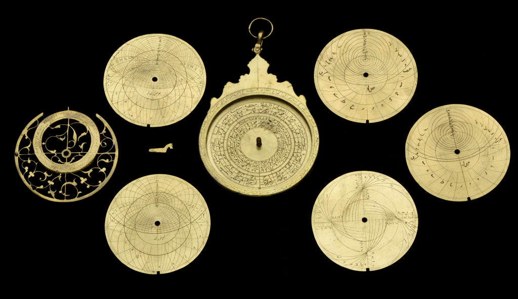 Detail of Astrolabe by unknown