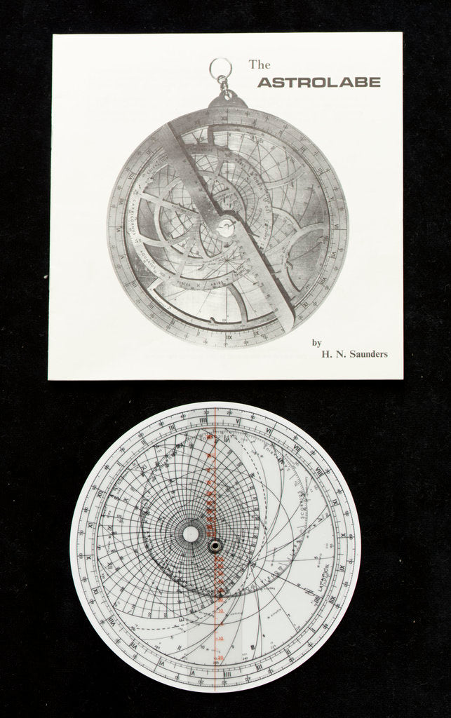 Detail of Model astrolabe by Harold N. Saunders