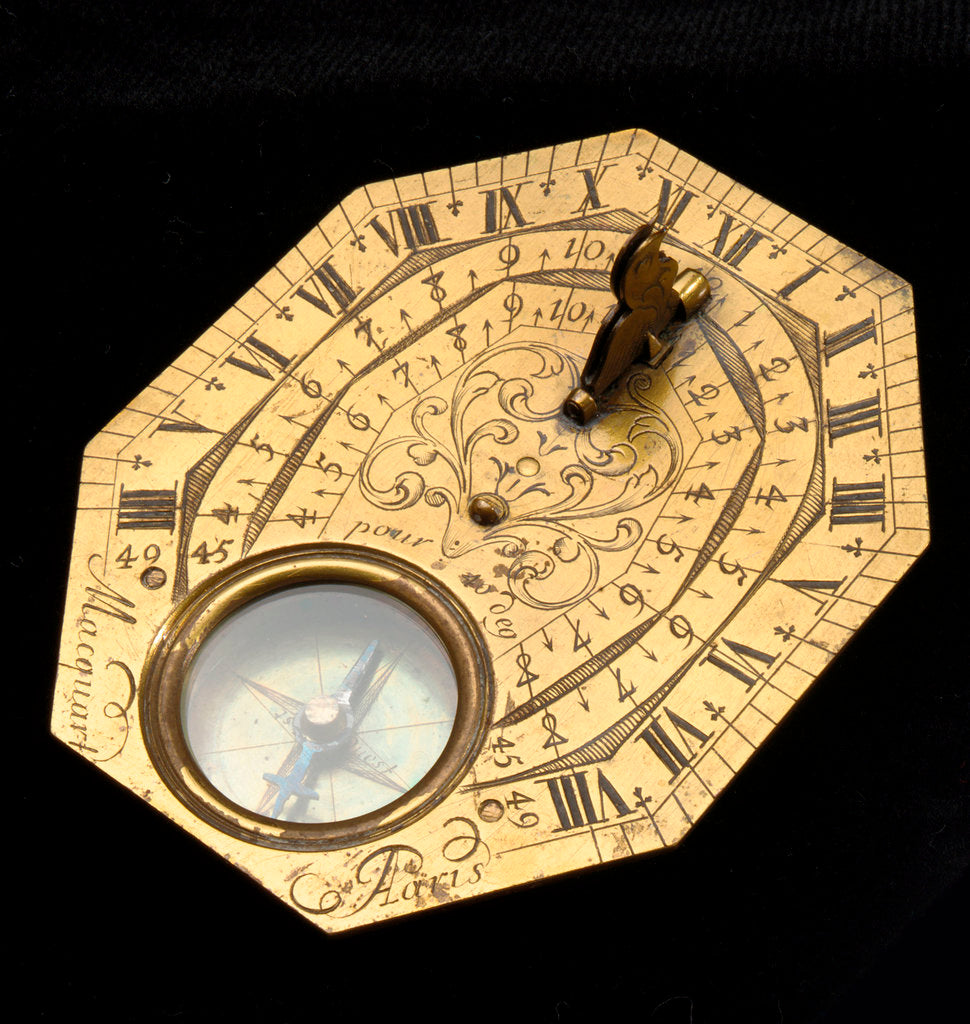 Detail of Butterfield dial by Macquart