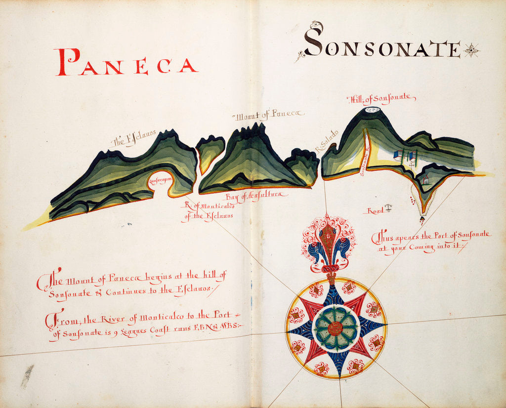 Detail of Paneca and Sonsonate by William Hack