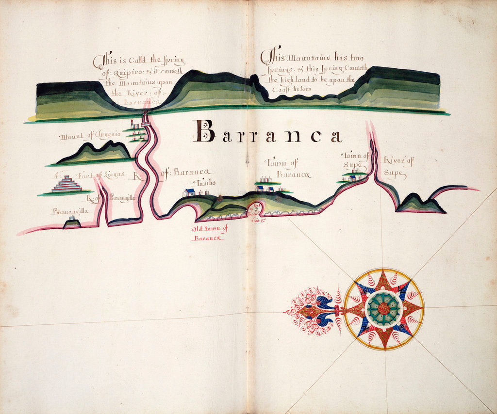 Detail of Barranca by William Hack