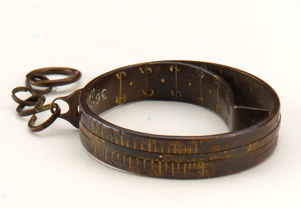Detail of Ring dial by Johannes Zech