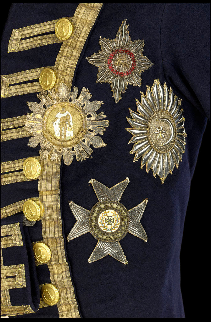 Detail of Royal Naval uniform: pattern 1795-1812 by Firmin & Westall