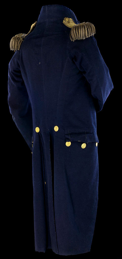 Detail of Royal Naval uniform: pattern 1795-1812 by unknown