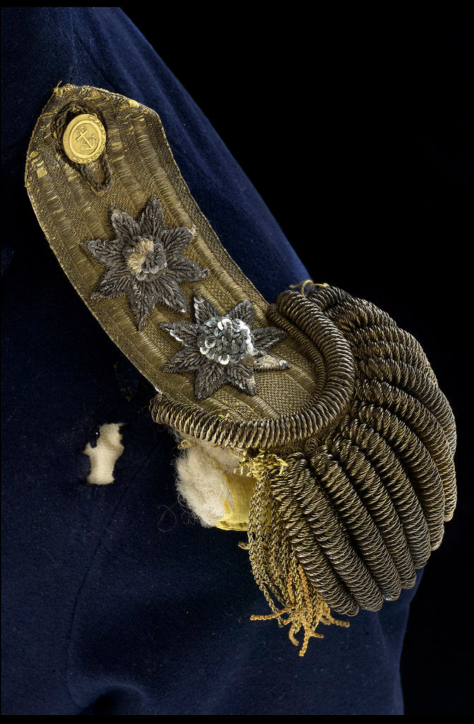 Detail of Royal Naval uniform: pattern 1795 by unknown