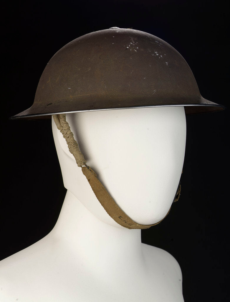 Detail of Non-regulation helmet by unknown
