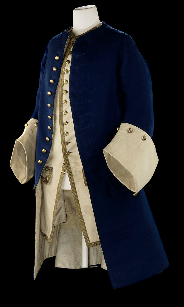 Detail of Royal Naval uniform: pattern 1748-67 by unknown