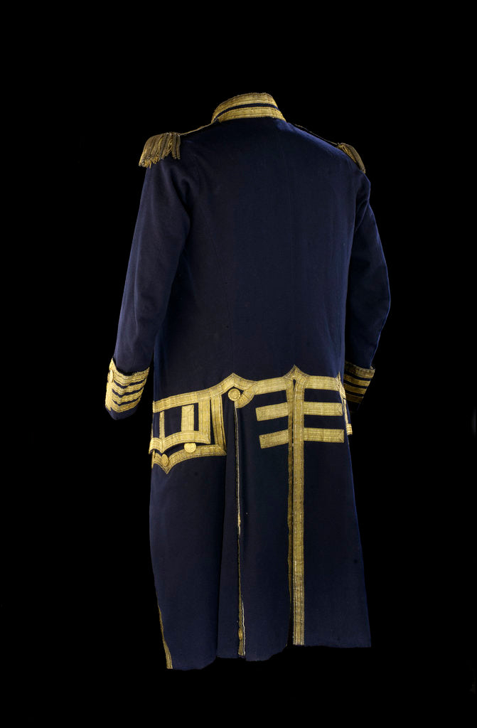 Detail of Royal Naval uniform: pattern 1795-1812 by Firmin
