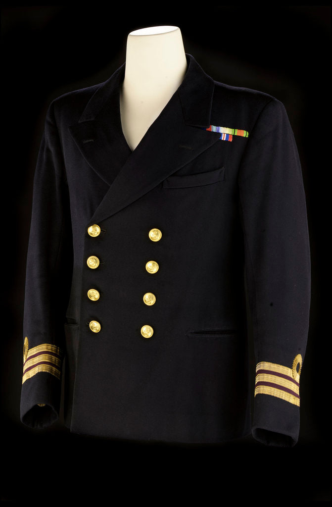 Detail of Royal Naval uniform: possibly pattern 1929 by Baker & Co. Ltd.
