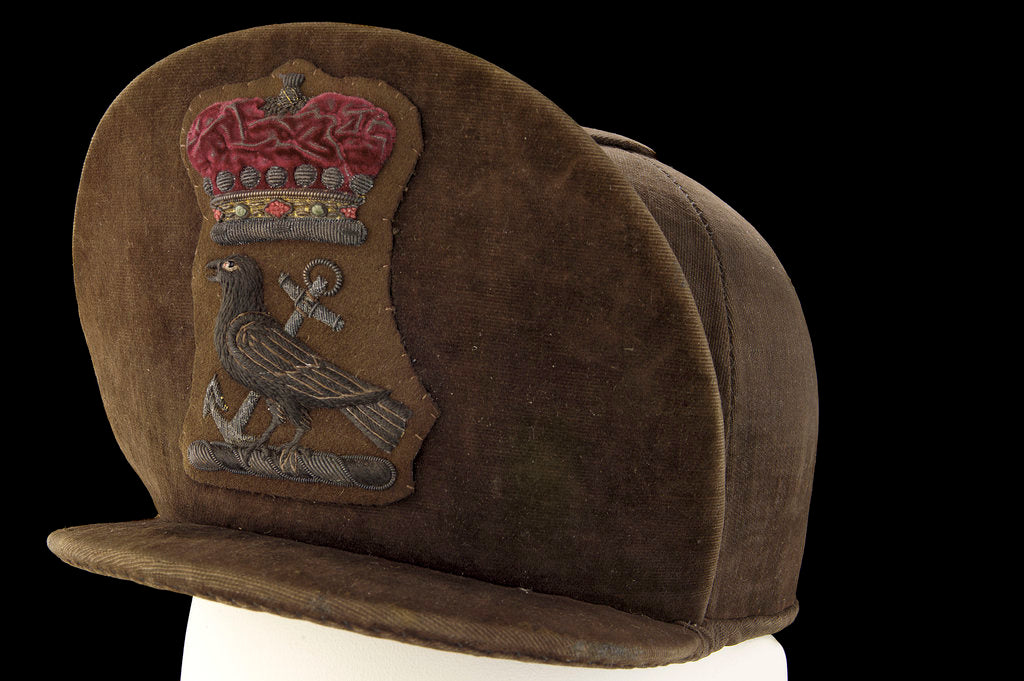 Detail of Non-regulation cap by Gibson and Peat